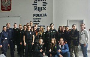 Wycieczka - Komenda Policji